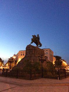 Caminando por el centro de Kiev