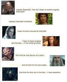 Mean Girls meets Middle Earth || I applaud the person who made this haha