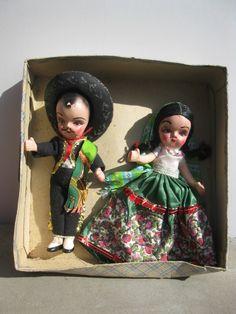 Vintage Mexican Dolls,
