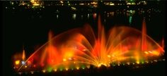 Grand Haven Musical Fountain.
