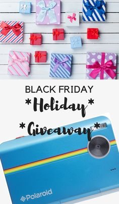 Black Friday Holiday Giveaway Enter to win a Polaroid Z2300!!!