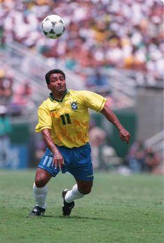 18deb9dd1769d Romario of Brazil in action at the 1994 World Cup Final. Torcida  Organizada