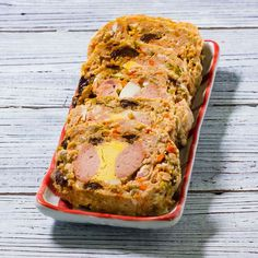 Homemade Pork Embutido Recipe is a very popular in the Philippines. The recipe is commonly made of Ground Pork, Eggs, tomato sauce, pickles and bell pepper.