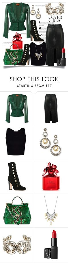 """""""Cover Girls"""" by helenaymangual ❤ liked on Polyvore featuring Missoni, Tom Ford, John Hardy, Jimmy Choo, Marc Jacobs, Dolce&Gabbana and NARS Cosmetics"""