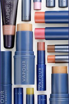 Vapour Organic Beauty products are biodegradable, USDA approved organic, packaging is recyclable, and non GMO, and cruelty free. I personally use the lipstick (when and if I wear lipstick). I chose Vapour because I know what it's made of and how it's made and that's important to me.