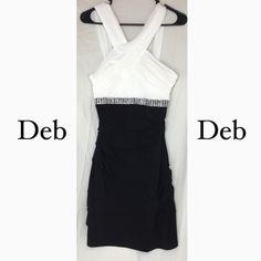 New Listing Deb mini dress. Size Medium Beautiful dress. Never worn. Size Medium. Deb Dresses Mini