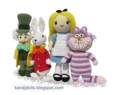 Cute Crochet - Alice in Wonderland