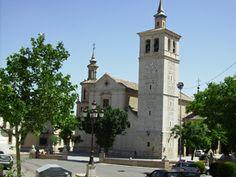 1559. Torre de la iglesia de Olías del Rey (Toledo). La torre fue contratada con las condiciones de Alonso de Covarrubias y realizada por el albañil Juan de Zamora