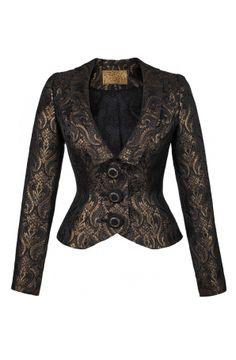 Romanov Jacket black gold