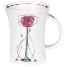 Melrose Pink Richmond shape Mug