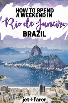 Traveling in Brazil? You can't miss the beautiful city of Rio de Janeiro! Here's our guide on how to spend a weekend in Rio de Janeiro, Brazil! #Brazil | Brazil travel | things to do in Rio de Janeiro | Rio de Janeiro travel tips | Rio de Janeiro bucket list | Rio de Janeiro travel guide | things to do in Brazil | weekend trip ideas |