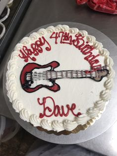 Electric guitar cake Guitar Cake, Young Adults, Electric, Birthday Cake, Teen, Cakes, Desserts, Food, Birthday Cakes