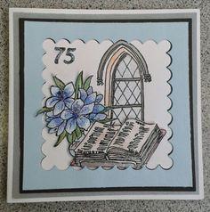 75th Birthday card by Mitch