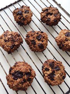Cookies med mørk chokolade og peanutbutter