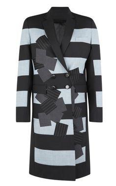 Eveline Coat by Jonathan Saunders for Preorder on Moda Operandi