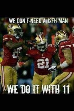 You will get this if you're a true Niners fan! 49ers nation? How about 49ers Empire!