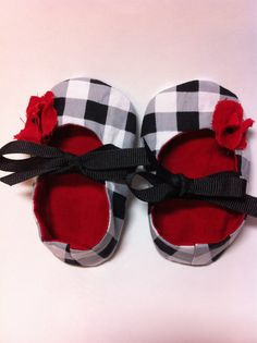 Baby Shoes - Mary Jane Baby Shoes