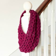Crochet this beautiful basic chunky cowl, perfect for the cooler seasons! Free pattern available! thanks so xox