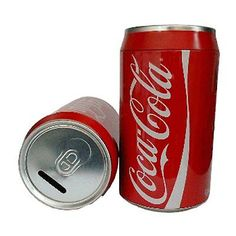 #Money box kids #piggy bank pot saving can coca cola tin novelty #style 20cm,  View more on the LINK: http://www.zeppy.io/product/gb/2/291875521299/