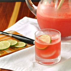 Tequila Watermelon Refresco ~ The Way to His Heart