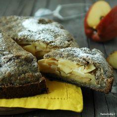Crostata di grano saraceno e mele  http://blog.giallozafferano.it/passionecooking/crostata-grano-saraceno-mele/