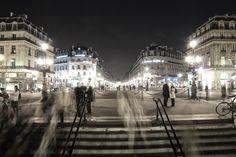 Paris place de l'Opéra by Guillaume Nédellec