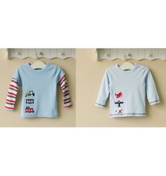 Mom and Bab Boys Longsleeves 2 in 1 - Aeroplane - sadinashop.com  T-shirt atau kaos lengan panjang untuk bayi dan anak.