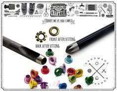 Bague Design Timbre en forme de Poinçons Outils Heart Star Shape Punch Bijoux Craft