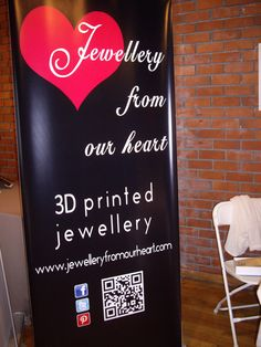 Jewellery from our heart 3d Printed Jewelry, Fashion Project, Spring Summer 2016, Chalkboard Quotes, Art Quotes, Prints, Projects, Blue Prints, Tile Projects