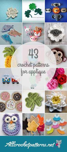 Crochet Patterns For Applique