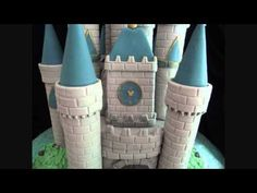 How to make a  Disney Castle cake video! Great!