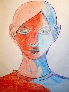 Art, Portrait, Kunst, Art Education, Artworks