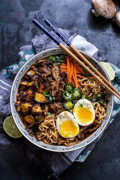 Ramyeon, korean food