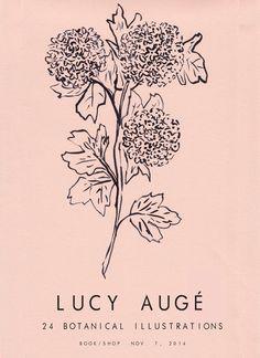 LUCY AUGÉ SHOW POSTER