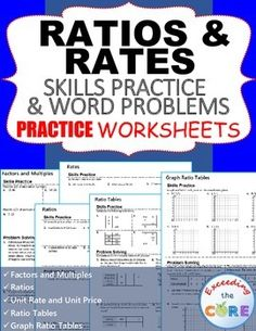 Lesson 7 homework practice ratio and rate problems answer key