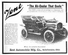 1906 Zent Automobile Advertisement