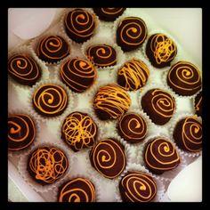 Peanut butter truffles by sweetbits-bakery.com