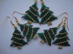 christmas tree earrings - Google Search