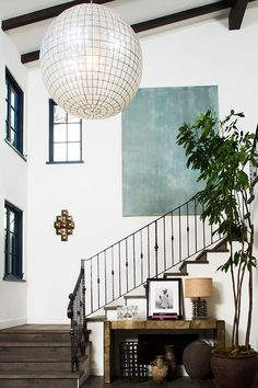 How to Make Your Staircase the Prettiest Place in the Entire House  via @PureWow