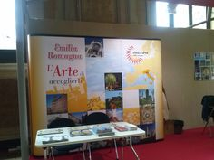 La Borsa del Turismo delle 100 Città d'Arte a Bologna in Palazzo Re Enzo: gli stand espositivi
