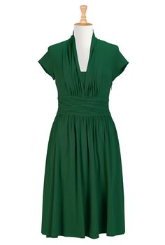 Womens Full sleeve dresses - Shop for Empire dresses - Custom sized and styled to suit you - CL0029098   eShakti