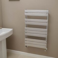 Lorenzo Beta Heat 1000 x 600mm Heated Towel Rail  - Stainless Steel Bathroom Radiators - Better Bathrooms