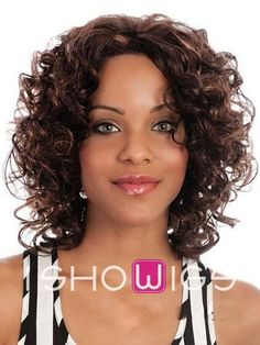 Sweet #32 Short Lace Front Curly Wig http://www.ishowigs.com/sweet-32-short-lace-front-curly-wig-aa40629.html