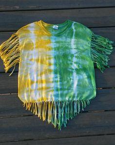 Tie Dye Shirt Fringe Tie Dye Shirt Hippie by MessyMommasTieDyes