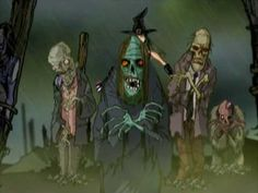 Rob Zombie - Lords Of Salem Great animation of the Salem Witch Trials with blood thirsty Puritans torturing and murdering witches.