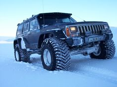"jeep cherokee xj modifications | 1988 Jeep Cherokee ""Bl mi"" - Mosfellsb r, owned by dragonkingxj ..."