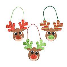 Patterned+Reindeer+Ornament+Craft+Kit+-+OrientalTrading.com