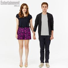 Comic-Con Star Portraits - Elizabeth Henstridge, Iain De Caestecker, Marvel's Agents of S.H.I.E.L.D.