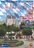 Pa' Las Birras: OKTOBERFEST GALDAR 2015 Sábado 24 Octubre