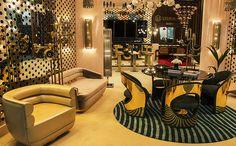 Besuchen Sie die 7 sexy Stands in der Maison et Objet 2017 Country Interior Design, Interior Design Inspiration, Home Decor Inspiration, Mid Century Modern Design, Mid Century Modern Furniture, Modern Style Homes, Affordable Home Decor, Dining Room Design, Modern Decor